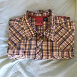 Quicksilver Men's Short Sleeve Shirt Size XL, NWOT